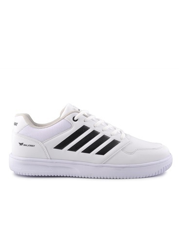 Walkway Nelson Beyaz-Siyah Spor Ayakkabı Beyaz